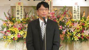 台北駐日經濟文化代表處副代表張仁久對千葉僑會在地方的經營表示感佩