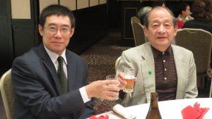 旅日50年的加來俊貞醫師受到曹長青的演說而激勵