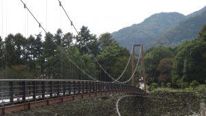 吊橋兩岸植栽生態優美