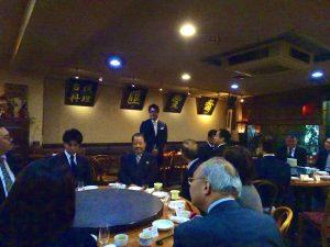 青年部馮明輝部長感謝代表處對青年部支持
