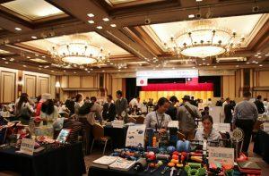 台灣優質產品及專利產品拓銷團於9月30日在東京舉辦商談會,共77家台灣業者參加