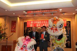 副代表郭仲熙(左)和會長羅鴻健(右)合影
