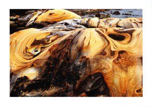 這次的獎作品台灣澳底的奇岩怪石