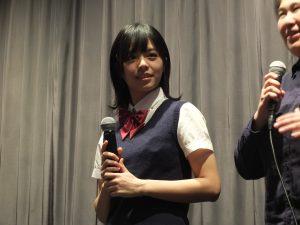 主人公・林真心役のビビアン・ソン(宋芸樺)は清純派な制服を身にまとい登壇