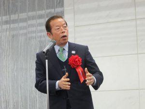 台北駐日経済文化代表処の謝長廷代表も祝辞を述べた