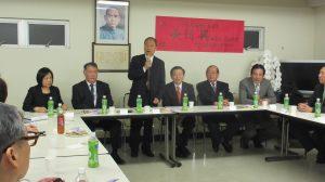 僑務委員長吳新興與留日東京華僑總會理監事進行座談會