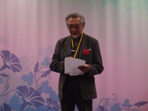 東京藝術大學名譽教授中林忠良致詞