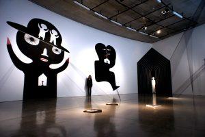 台湾人アーティストのリ・イェンファさんのインスタレーション作品「心の場所を探して」