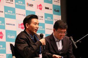 導演趙德胤於東京FILMeX影展映後座談,和日本觀眾分享拍攝《再見瓦城》的故事