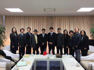 國民黨文傳會副主委一行在東京中山學會陪同下,拜會日本政黨與議員