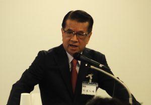 台湾の統一グループで33年にわたりコンビニエンスストア最大手「セブン-イレブン」を率いた経験をもつ統一超商総経理の徐重仁氏