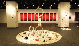 台湾人芸術家3者による展覧会「無・尽・藏」