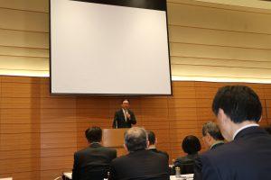 日華懇議員古屋圭司表示這場播映會是台日間友情和信賴的表現