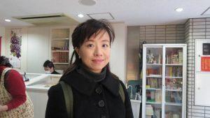 王貞云來日十幾年 少有機會參加台灣人聚會