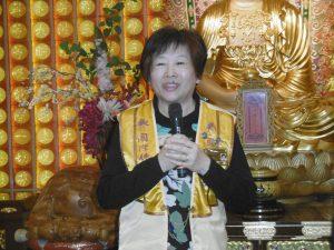 陳秀卿受母親影響 以成為佛化家庭而努力