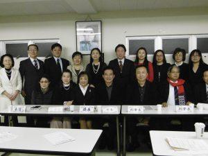 選務委員與當選人及來賓合照