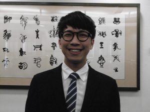 學員耿玉澄希望學習日本房仲