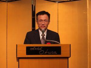 台湾貿易センター東京事務所の呉俊澤所長