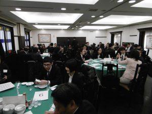 學員與橫濱僑界先進交流