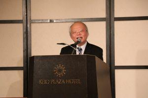 駐日代表處副代表郭仲熙在新年懇親會中致詞