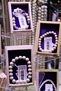 來自台灣的北投石,因為對健康有益,在日本受到歡迎。