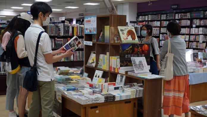紀伊國屋書店設置繁體中文書籍專區